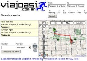 Viajoasi nació en 2005 con el objetivo de brindar un conjunto nuevo de soluciones en el ámbito de los sistemas de información geográfica (GIS) para la región de la Ciudad de Buenos Aires.